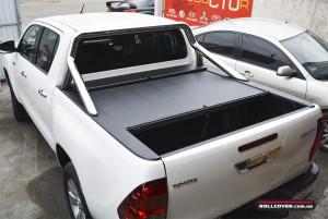Roll N Lock 518 Hilux Revo 2016+ & OE Style Sport Bar Ролета Хайлюкс 2016+ + дуга а кузов