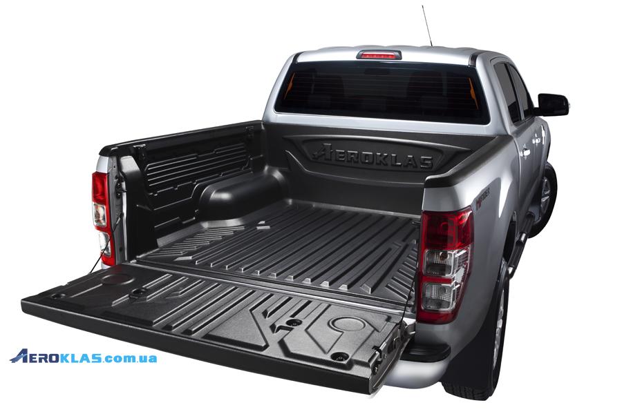 Ford Ranger 2006-2012 защитный вкладыш с заходом на борт