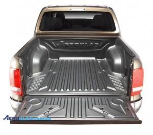 VW Amarok 2000-2016 защитный вкладыш под борт
