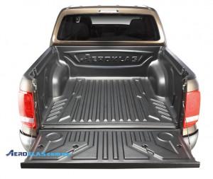 VW Amarok 2000-2016 защитный вкладыш с заходом на борт