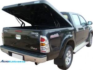 Toyota HiLux 2006-2015 крышка AVIATOR Aeroklas из ABS пластика