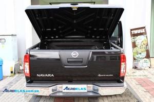 Nissan Navara D40 ( Frontier ) 2006-2015 крышка SPEED Aeroklas из ABS пластика