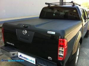 Nissan Navara D40 ( Frontier ) 2006-2015 крышка AVIATOR Aeroklas из ABS пластика