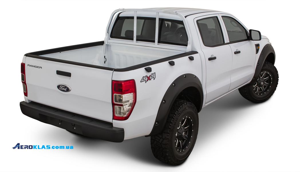 Ford Ranger 2012-2016 RAIL GUARD накладки на борта