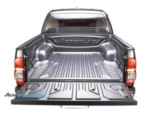 Toyota HiLux 2006-2015 защитный вкладыш с заходом на борт