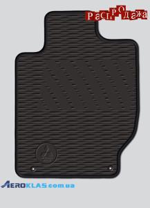 Ковры резиновые оригинал пере + зад для Mitsubishi L200 2013-2015 mz314722 + mz314720