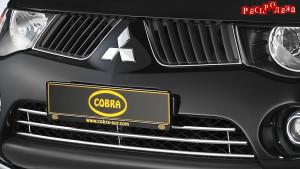 Решетка в бампер COBRA MIT3067 для Mitsubishi L200 2006-2013