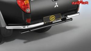 Защита задняя COBRA MIT3079 для Mitsubishi L200 2013-2015 авто без бампера