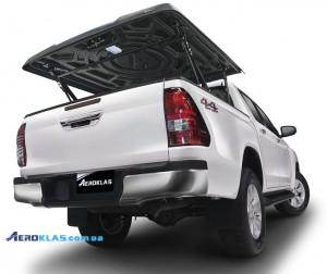 Toyota HiLux 2015-2016 крышка AVIATOR Aeroklas из ABS пластика