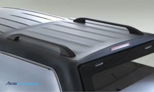 Mitsubishi L200 2006-2013 рейлинги на кунге Aeroklas из ABS пластика