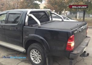 Ролета Roll N lock с оригинальными дугами TOYOTA для Toyota Hilux 2005-2015
